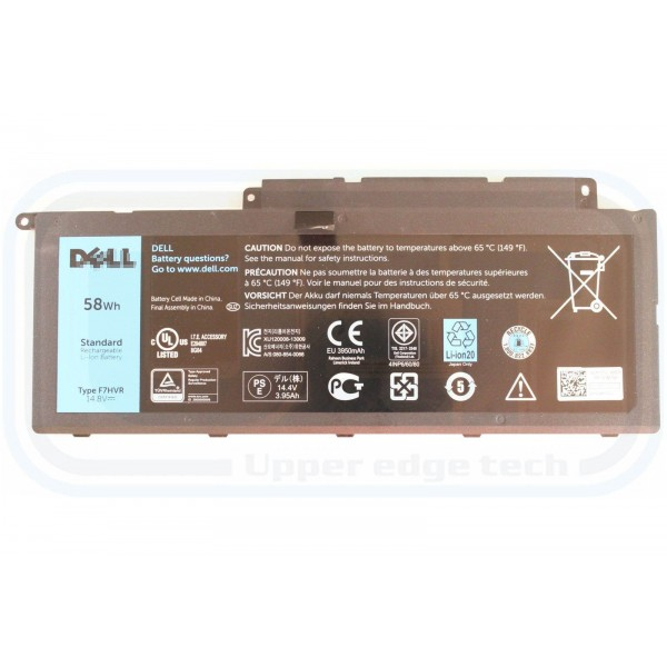 Replacement Dell Inspiron 7537 773 Y1FGD F7HVR Battery